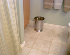 Handyman Estimate To Install Baseboard In Bathroom