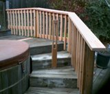 Replace Spa Railing