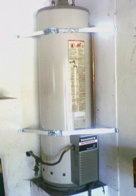 Earthquake Strapping Waterheater